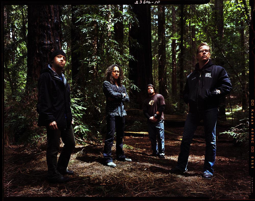 Metallica - Muir Woods, Marin County, CA
