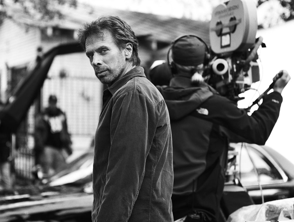Jerry Bruckheimer on set of Deja Vu - New Orleans, LA