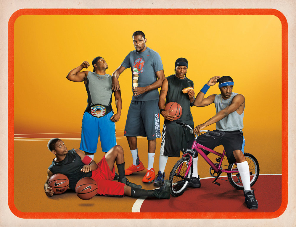 Kevin Durant for Nike - Weiden & Kennedy - Los Angeles, CA