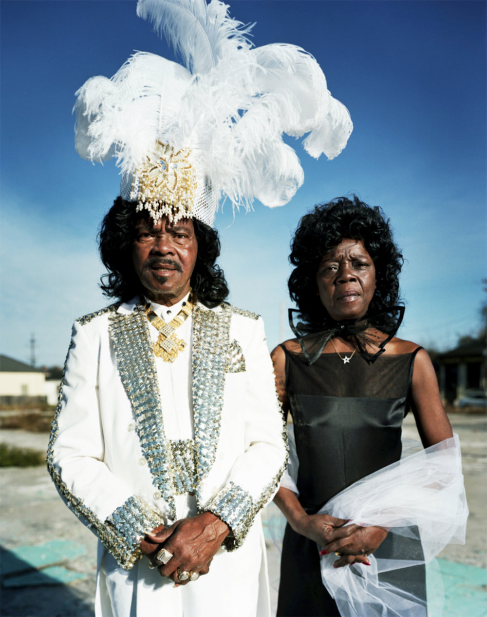Ernie K. Doe with wife Antoinette - New Orleans