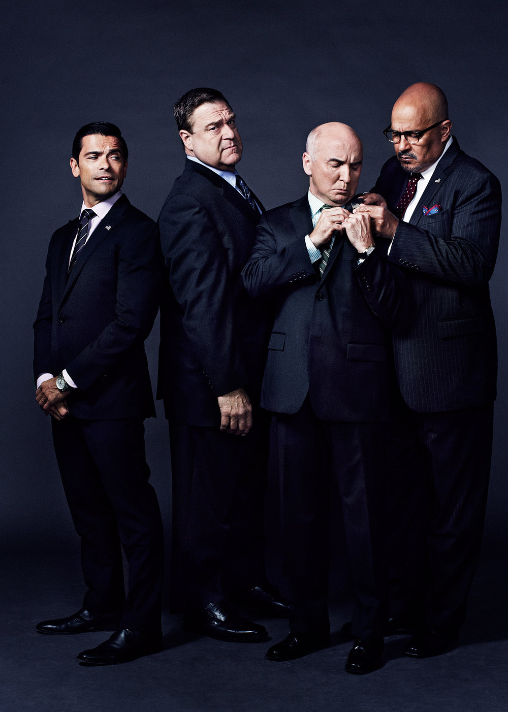 Cast of Amazon's Alpha House - New York CIty