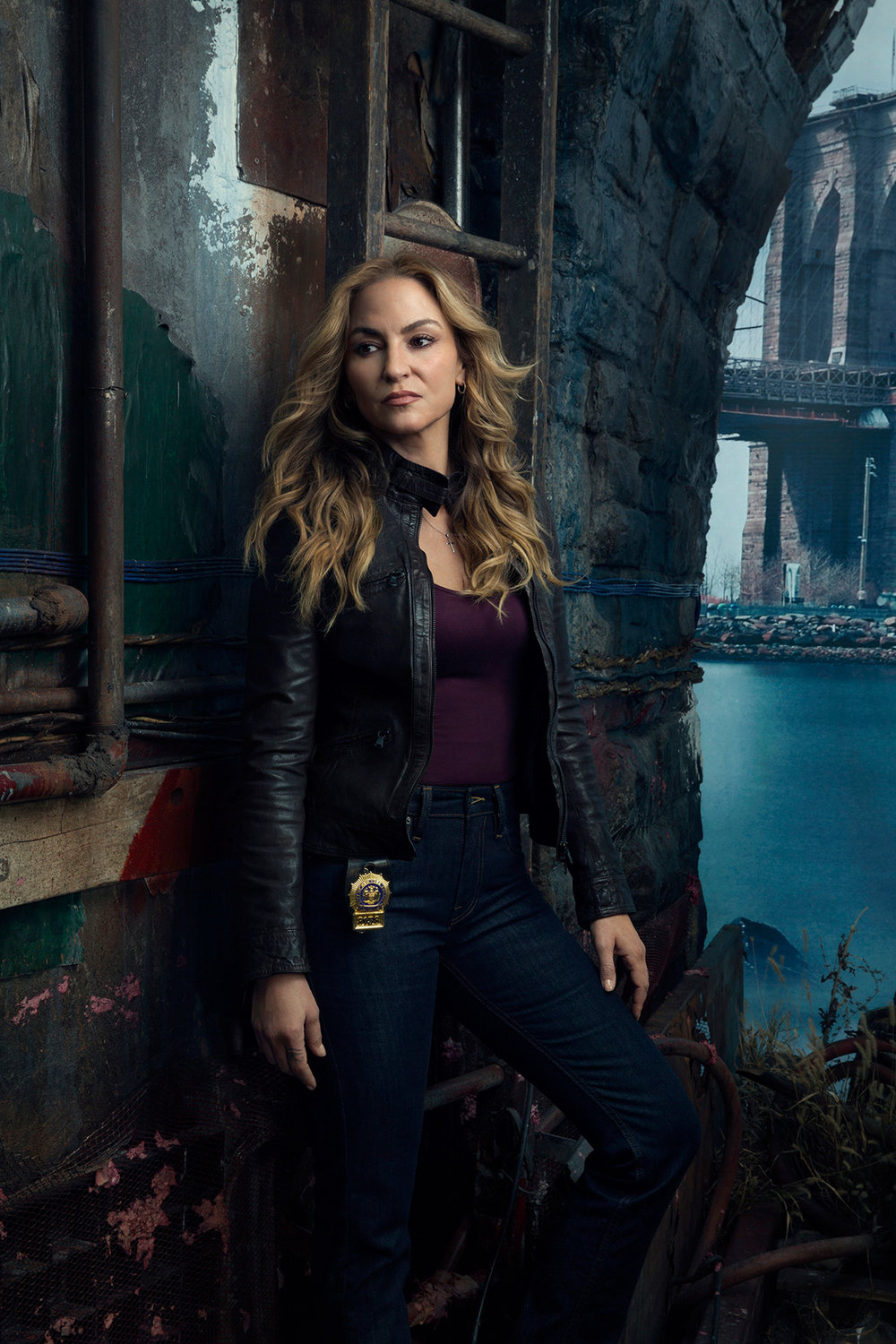 NBC - Drea de Matteo - Shades Of Blue - New York City