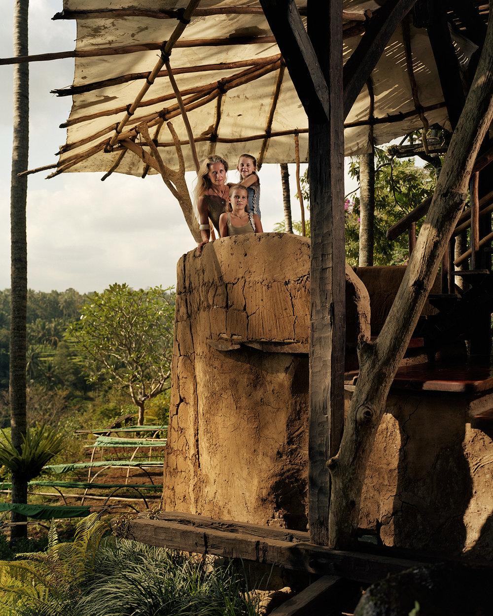 John Hardy's Bali Farm - Cynthia, Carina and Chiara Hardy - Ubud, Bali