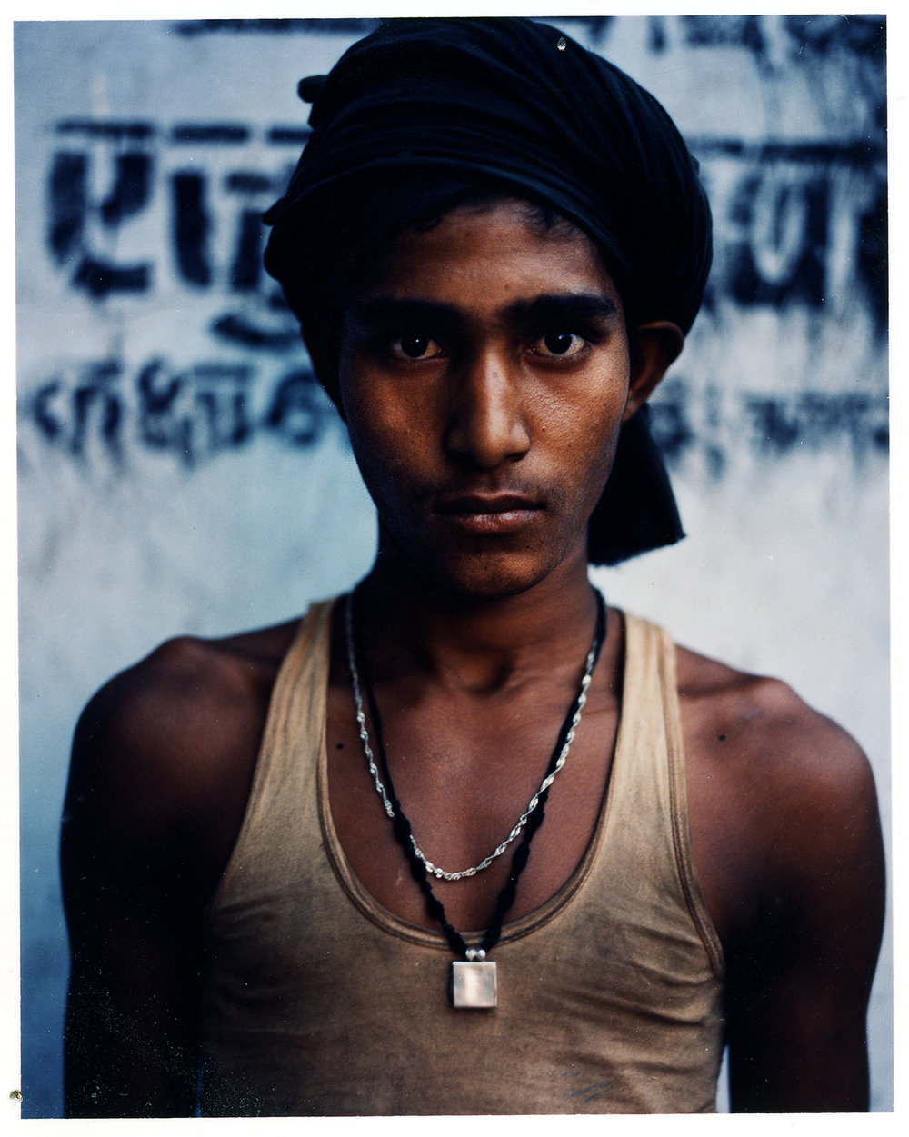 Polaroid - Street Vendor - Mumbai, India