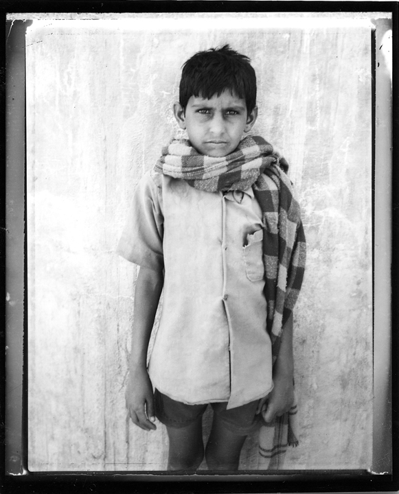 Polaroid - Young Street Vendor - Jaipur, India