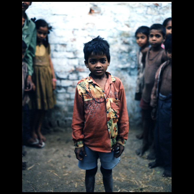 Polaroid - Young Boy - Varanasi, India