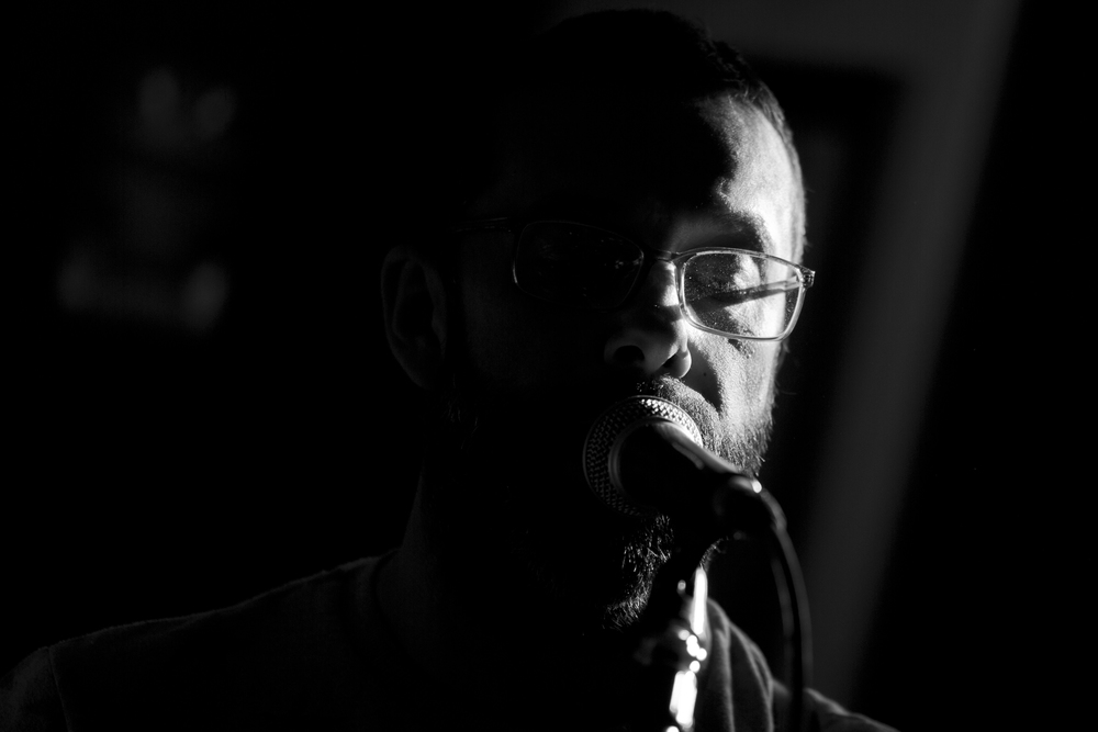 Low Key Vocalist Portrait