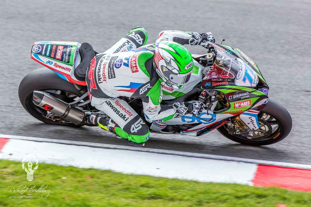James Ellison at Brands Hatch