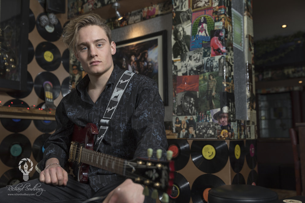 Guitarist Portrait