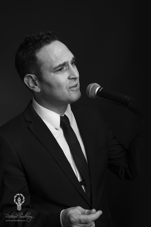 Singer Low Key Portrait