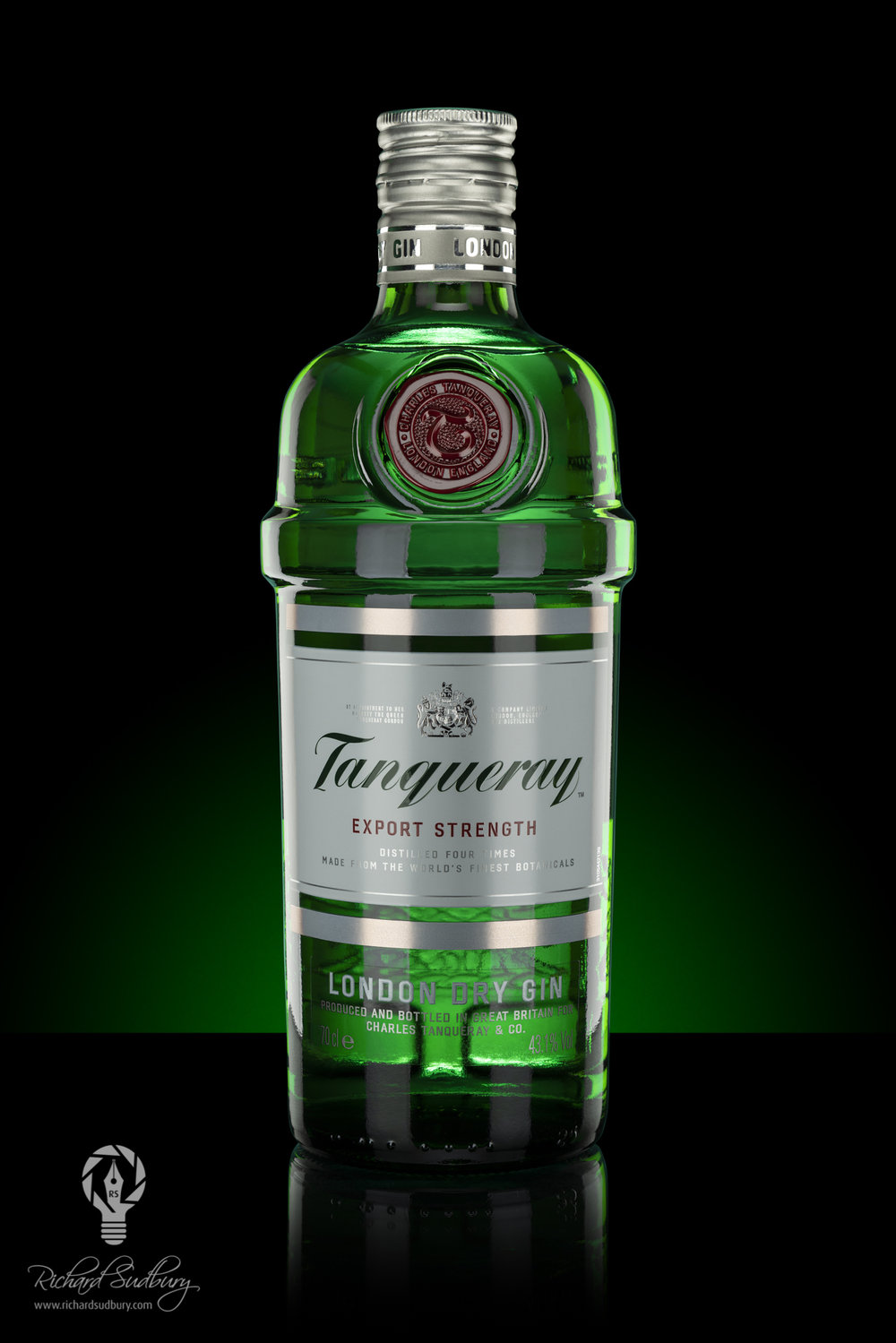 Backlit Tanqueray