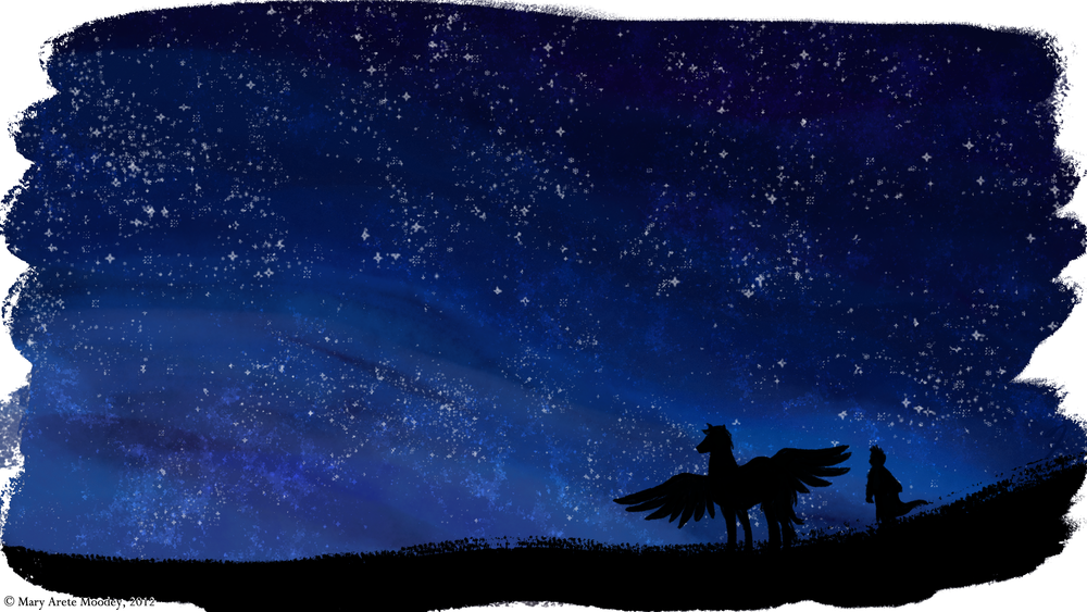 Christopher, Pegasus, and the Night Sky