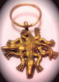 Adinkra - Funtunfunefu symbol