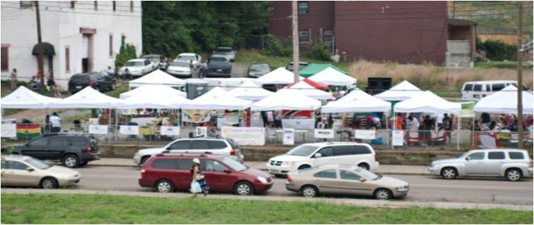 Ujamaa Marketplace on Centre Avenue