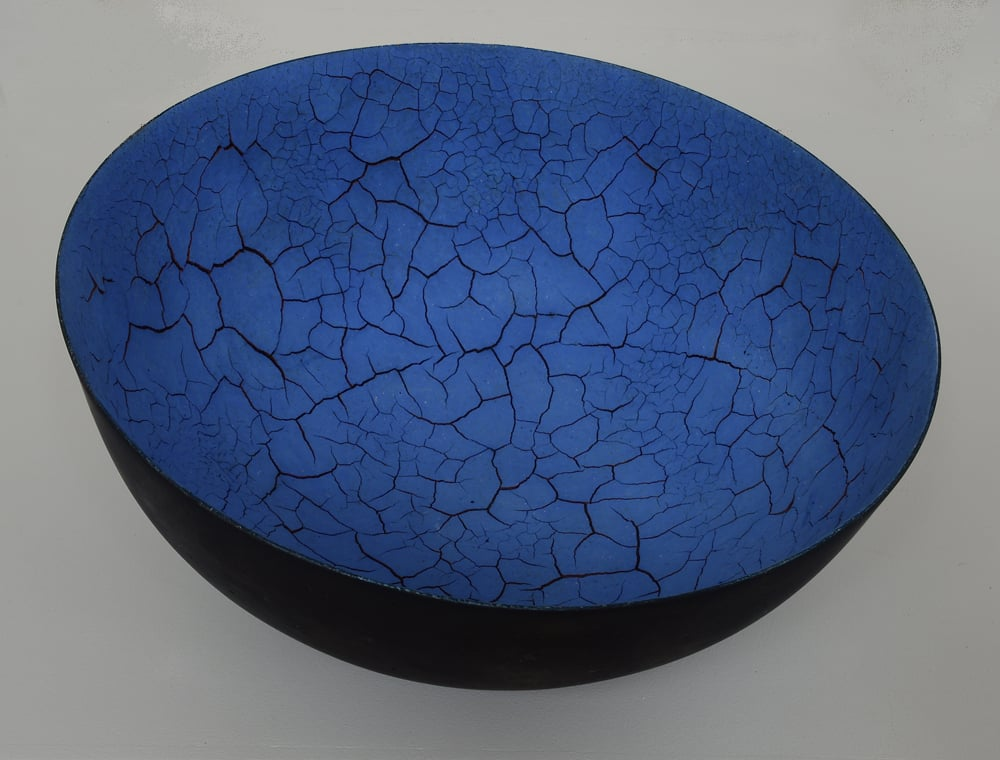 Tilted Blue Bowl, 2015