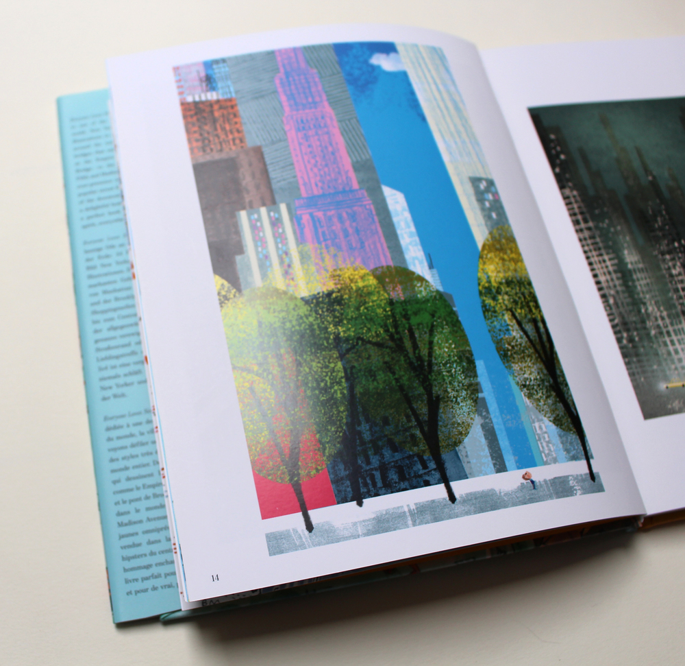 Everyone Loves New York  by Leslie Jonath, illustration by Tim Hopgood, teNeues Publishing Group
