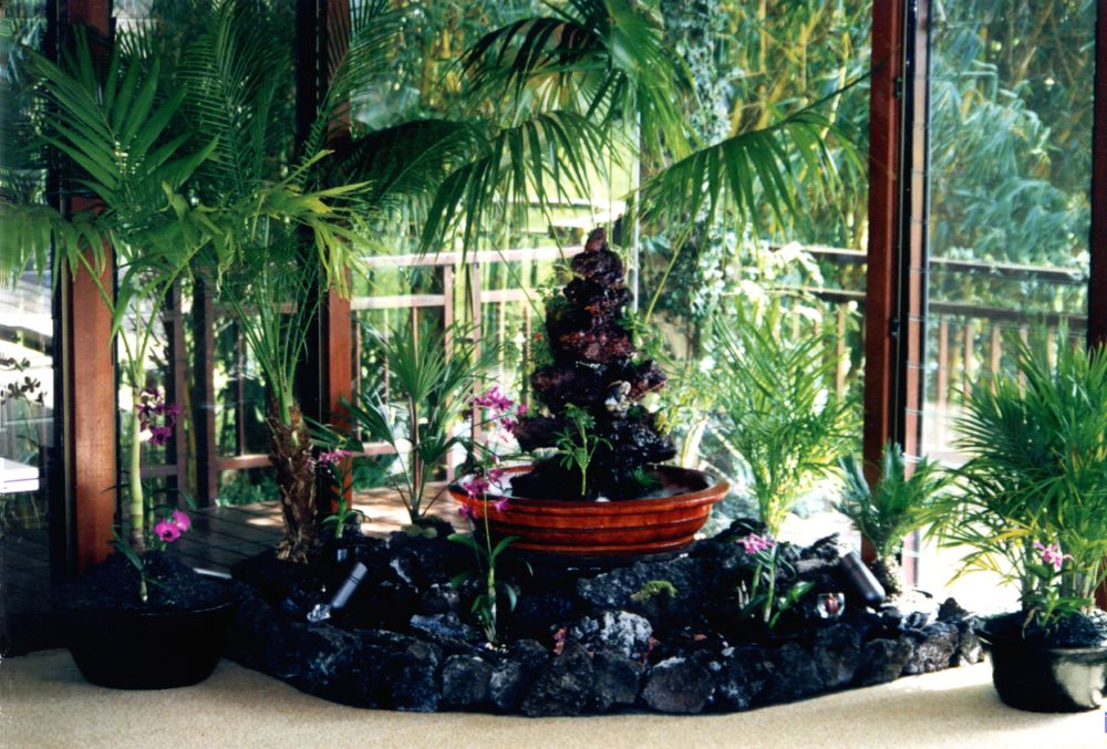 Custom Fountains — Hawaiian Island Fountains