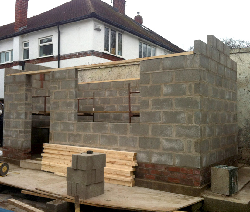 New Garage Construction-West Design and Build of Hedon-East Riding Builders 12.jpg