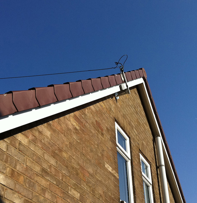 Dry Verge System installed by West Design and Build of Hedon