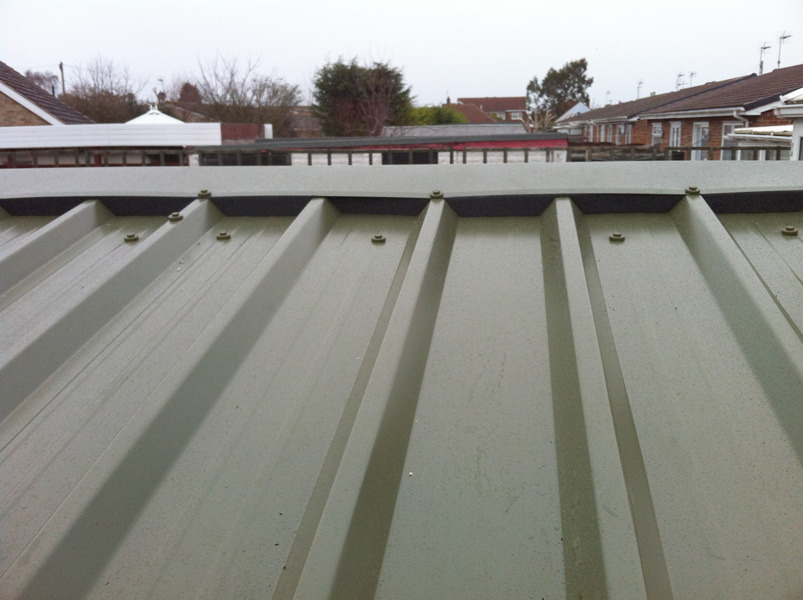 Corrugated Roof installed by West Design and Build of Hedon 02.jpg