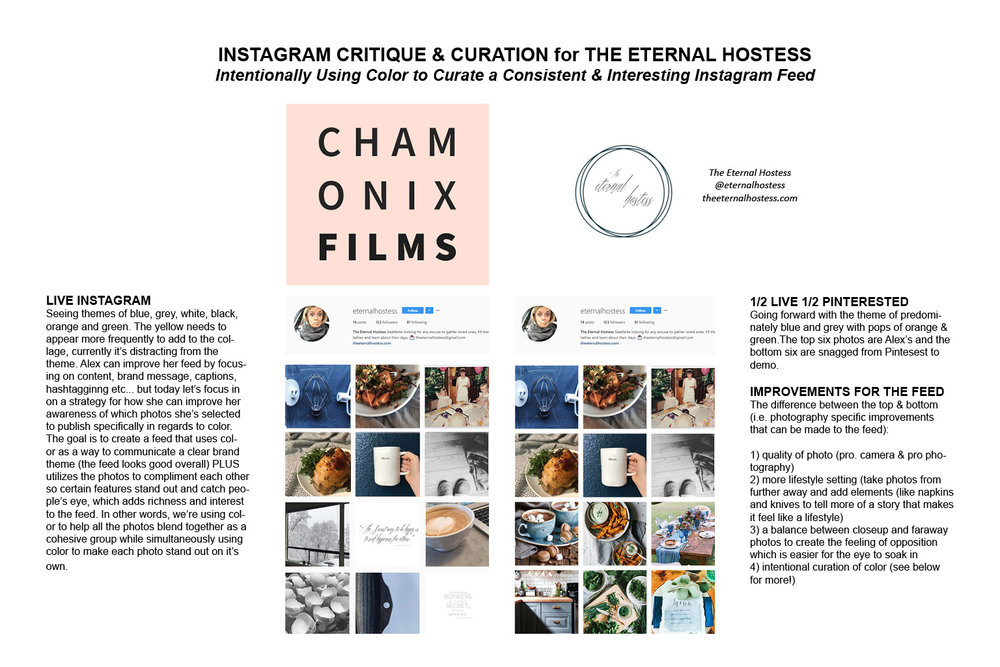 How to Make Your Instagram Feed More Consistent with Color Themes - instagram critique and curation services