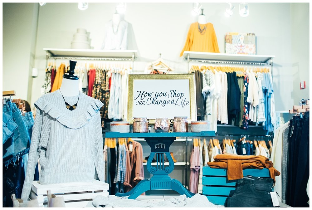 purpose boutique kirkland - young women empowered fundraiser - chamonix films videography photography female entrepreneurs - thrivant financial - how you shop can change a life