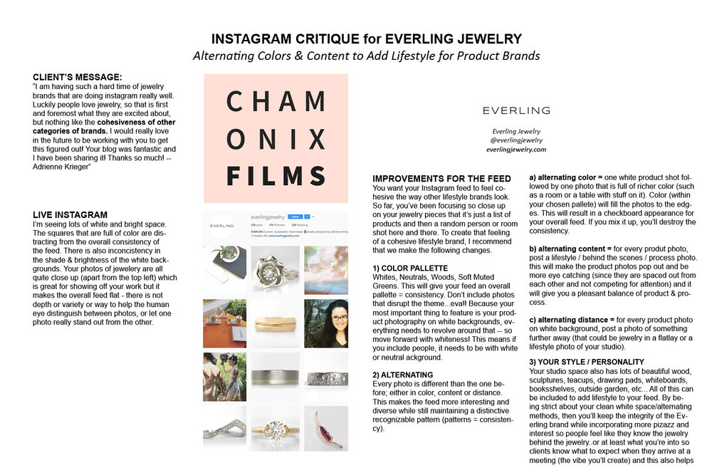 Chamonix Films Instagram Critique for Everling Jewelry - The Art of Alternating for Product and Lifestyle Cohesion PHOTOS.jpg