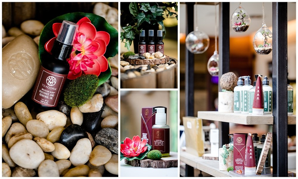 chamonix films - seattle product photographer commercial photography videography - teadora beauty skincare