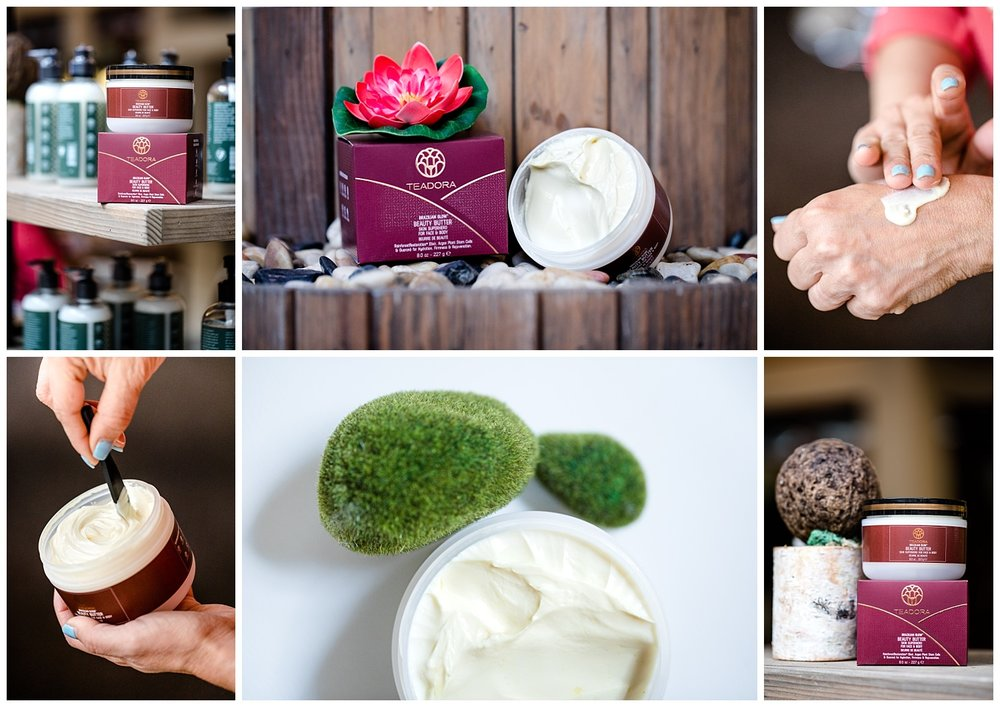 chamonix films - seattle product photographer commercial photography videography - teadora beauty skincare body butter