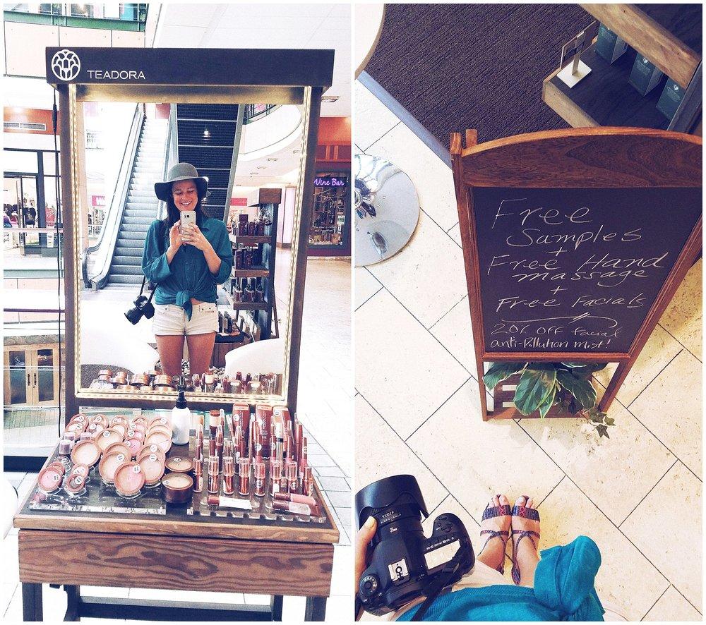chamonix films - teadora beauty pacific place shopping mall seattle videographers photography product skincare