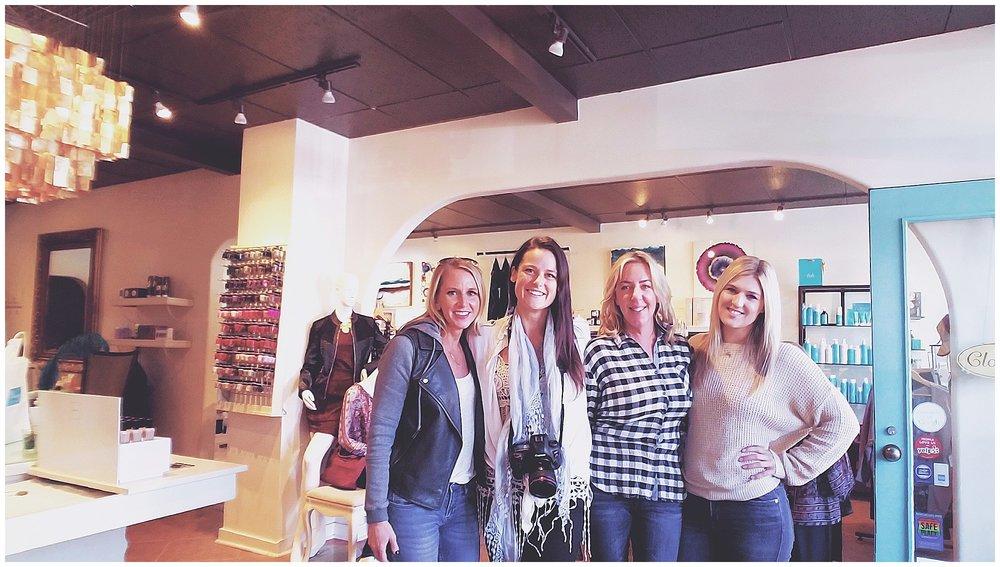 Chamonix Films - Vixen Day Spa & Boutique - Seattle Fashion Videography Brand Films - Behind the Scenes Team Portrait