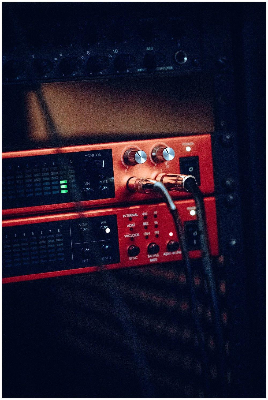 Chamonix Films - Seattle Music Videographer - Music Photography - audio interface instrument