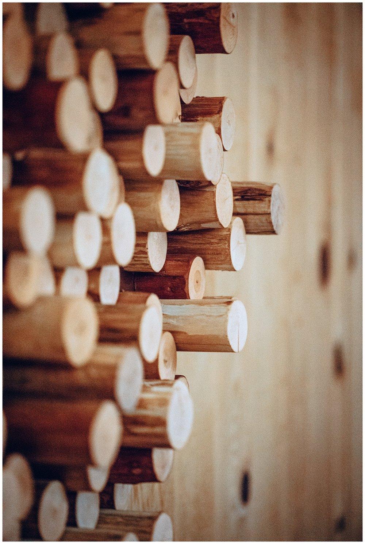 Chamonix Films - Seattle Music Videographer - Music Photography - wood decor on wall