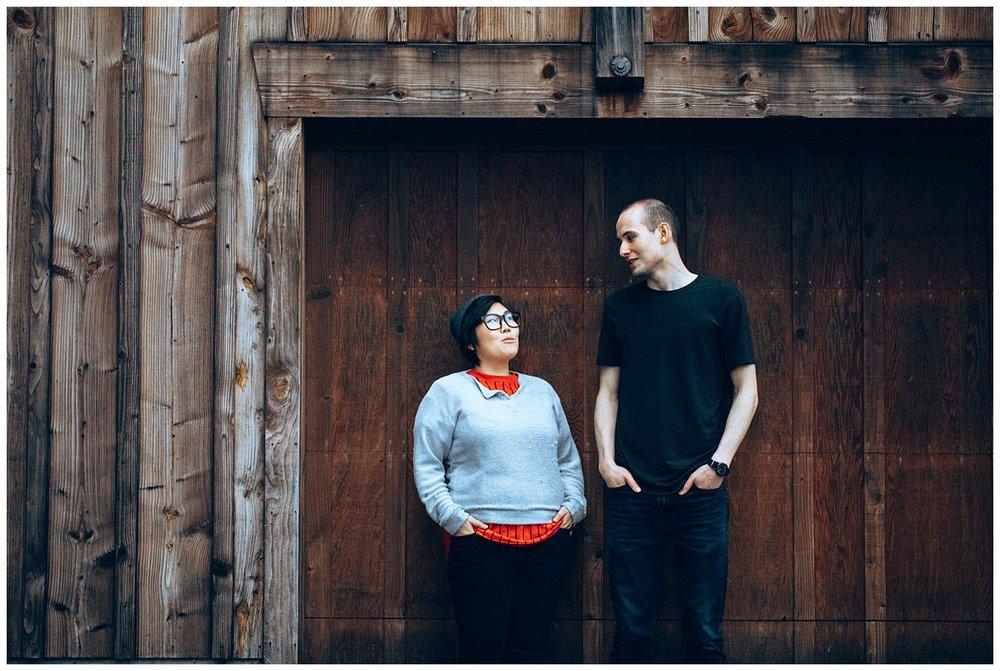 Chamonix Films - Seattle Music Videographer - Music Photography - artist portraits log cabin