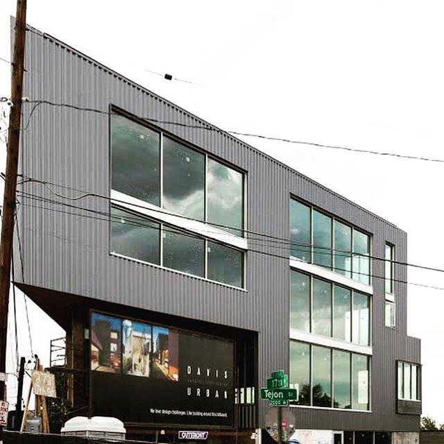 Final stages of construction ———————————————————— #Billboard  #davisurban  #architecture  #LoHi  #Denver  #views  #design