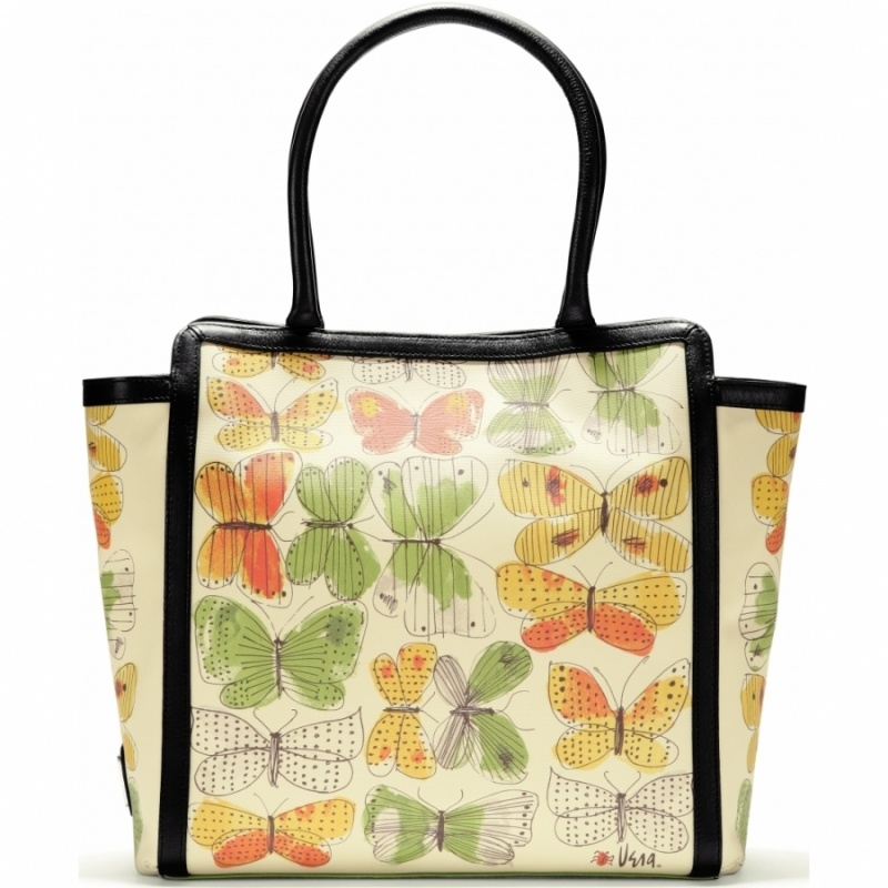 Or what about this tote from Brighton's new collection, Vera?! Isn't it lovely? Just that extra splash of green makes a great St. Patty's Day outfit!