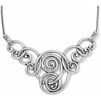 Rock N Twirl Collar Necklace