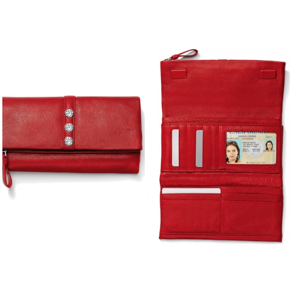 Nolita Shimmer Large Wallet $100
