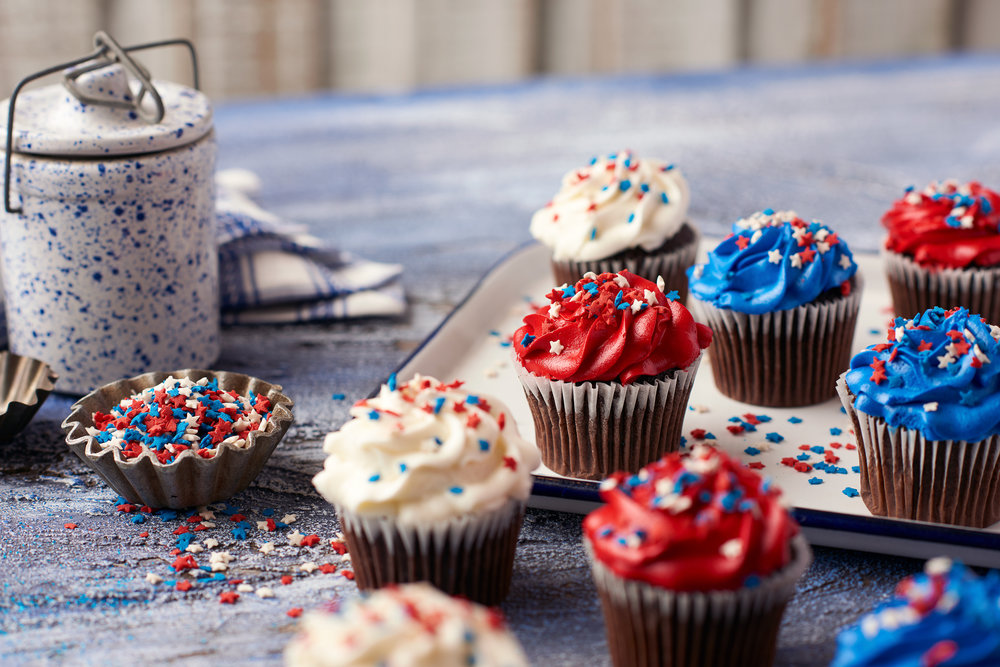 Fourth of July Cupcakes Food Photography for Publix Supermarkets Photography by Nick Pecori Tampa Commercial Advertising Photographer-2.jpg