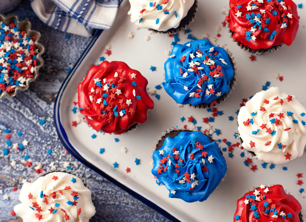 Fourth of July Cupcakes Food Photography for Publix Supermarkets Photography by Nick Pecori Tampa Commercial Advertising Photographer-4.jpg