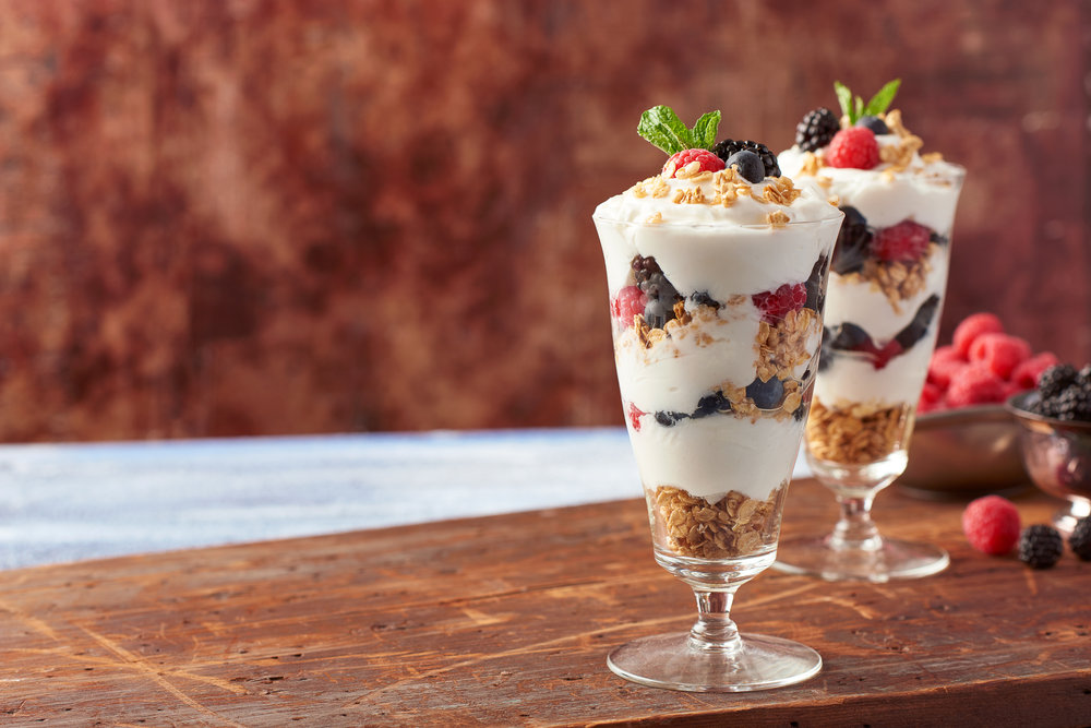 Raspberry Blueberry Yogurt Parfait Food Photography for Publix Supermarkets Photography by Nick Pecori Tampa Commercial Advertising Photographer-7.jpg
