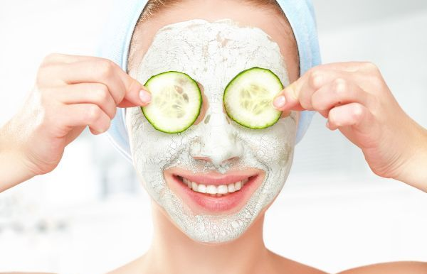at-home beauty treatments: face mask