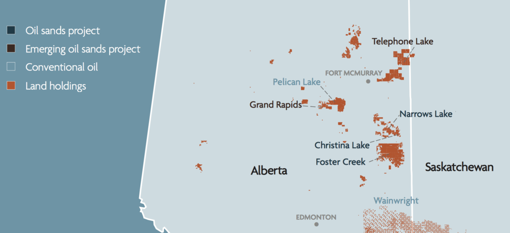 CENOVUS ASSETS IN ALBERTA AND SASKATCHEWAN (PHOTO COURTESY CENOVUS)