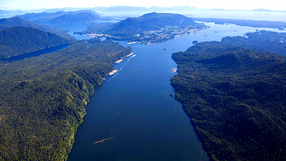 AERIAL VIEW OF TUCK INLET (PHOTO COURTESY IMO/XOM)