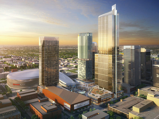 NEW ARENA DISTRICT (CREDIT: CITY OF EDMONTON