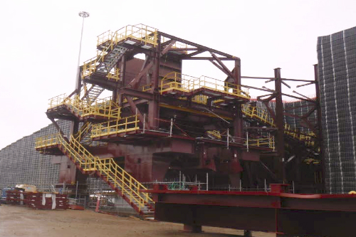 OPP DRY SIDE: CRUSHING PLANT