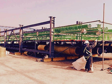 KOREAN PIPERACK MODULE YARD
