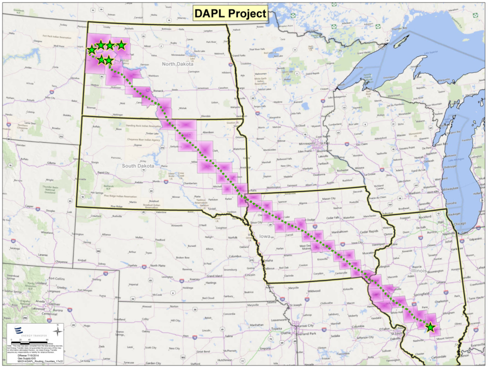 DAPL ROUTING COURTESY ENERGY TRANSFER