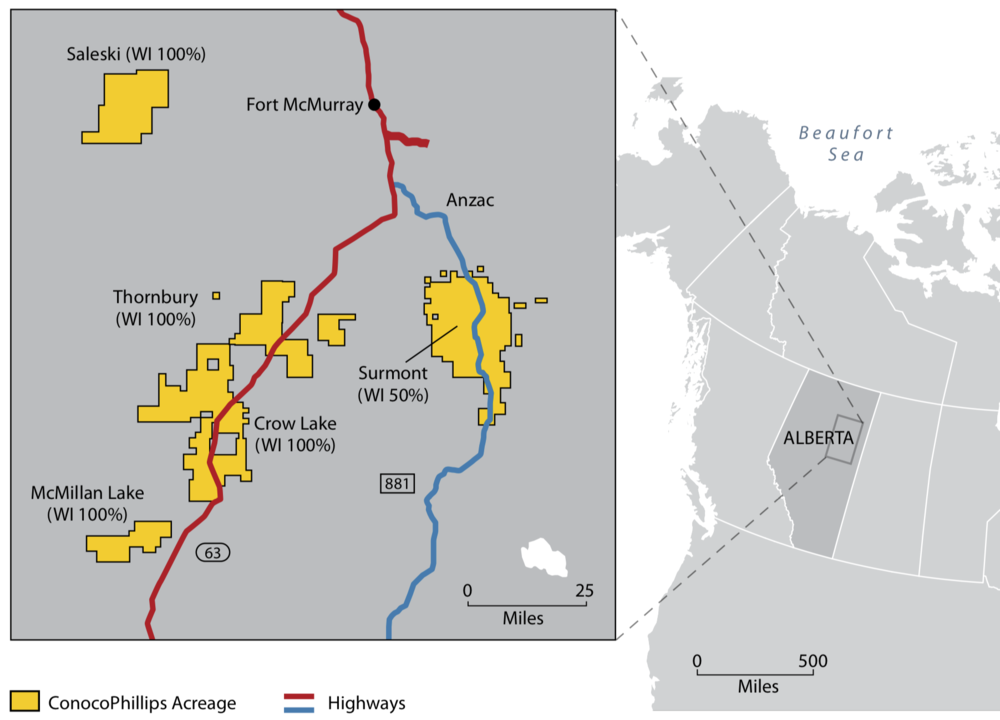 MAP COURTESY CONOCOPHILLIPS