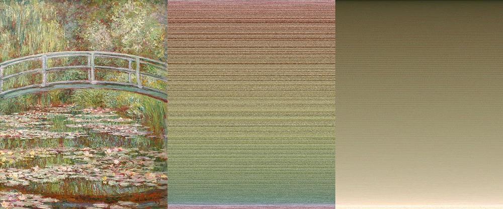Brücke über Seerosenteich - Claude Monet